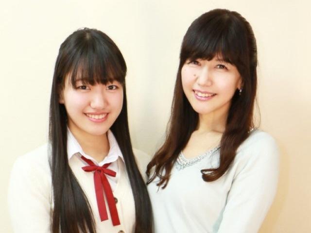 井上喜久子×井上ほの花 はじめての母娘17才対談【前編】