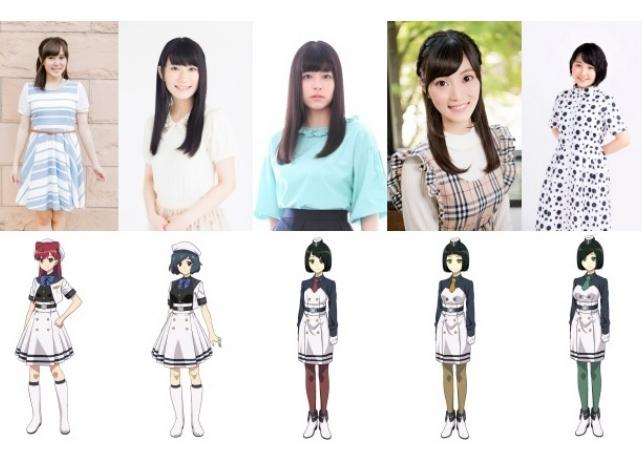 TVアニメ『荒野のコトブキ飛行隊』追加声優に吉岡美咲らが出演決定