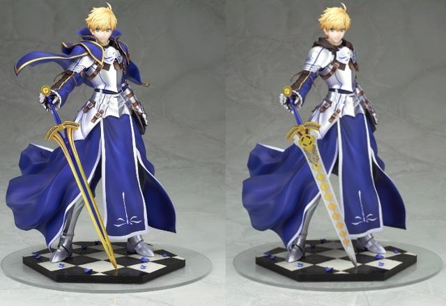 ▲「剣」パーツは2種付属。第二再臨の姿も再現可能!