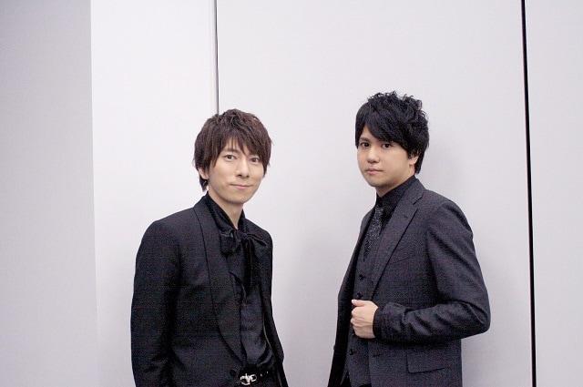 ▲羽多野渉さん(左)、作曲家・彦田元気さん(右)