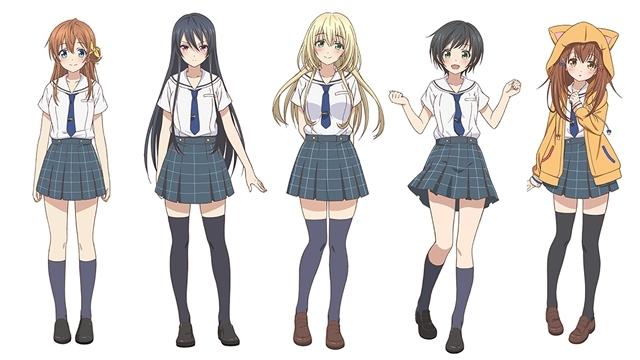 『八月のシンデレラナイン』キャラデザイン(着彩バージョン)公開! 緑川優美さん演じる追加キャラも到着