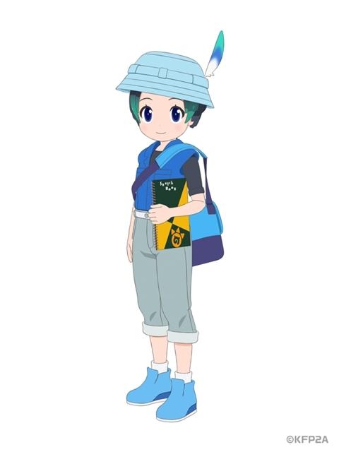 ▲新キャラクターのキュルルを公開!