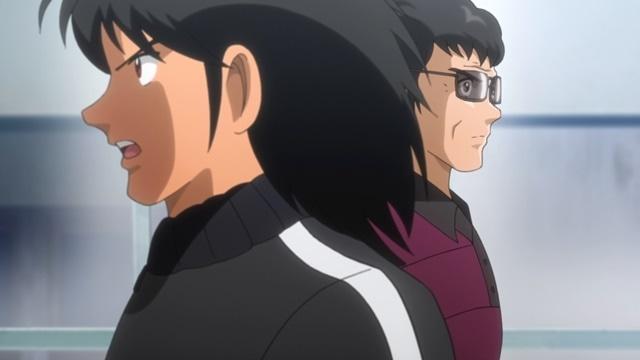 『キャプテン翼』第36話「それぞれの決意」の場面カット到着! 古傷を痛めながらも果敢に試合に挑む翼。そんな後半終了間際、早田誠が勝負をかける