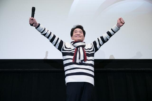 『ドラゴンボール超 ブロリー』公開記念ブロリーナイトに、筋肉スーツのフルパワー島田敏さん登場! 会場の様子を公式レポートで大紹介-2