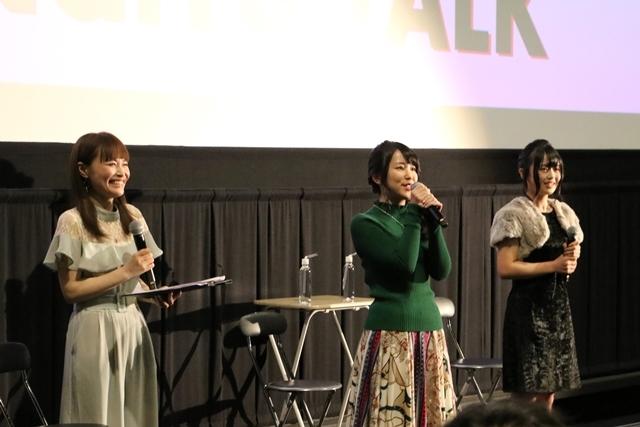 『機動戦士ガンダムNT』声優・村中知さんと松浦愛弓さんが登壇した女子会トークショーより公式レポート到着!-10