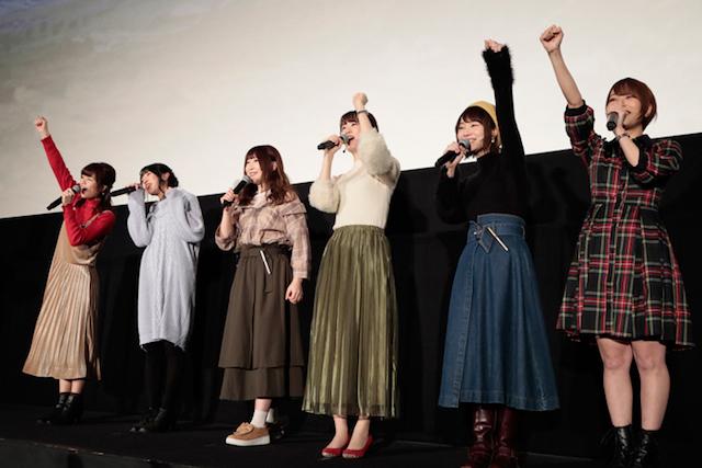 水島監督が描くハードボイルド空戦アニメ『荒野のコトブキ飛行隊』完成披露上映会をレポート!