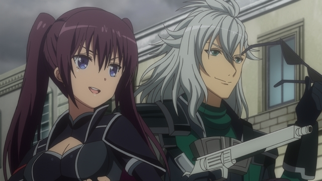 TVアニメ『叛逆性ミリオンアーサー』第10話「未来への絶望」より場面カットが到着! 団長たちがアーサーだけで結成された騎士団を撃破!