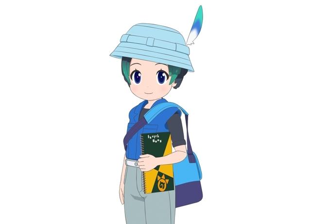 『けものフレンズ2』新キャラ・キュルルのイラスト解禁