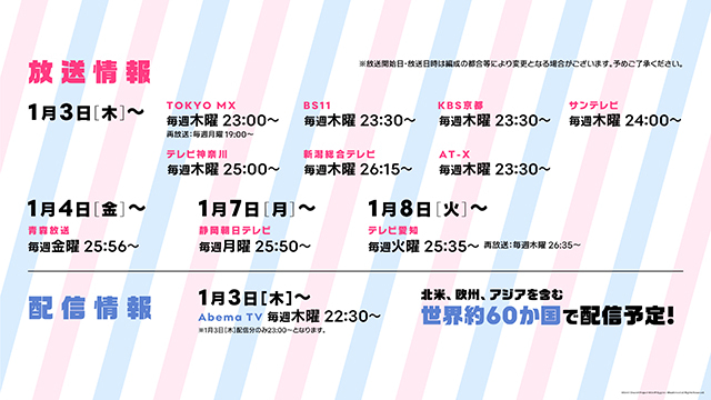 アニメ『BanG Dream!(バンドリ!)」第1期&第2期の一挙配信決定!「バンドリ! ラジオ祭り!」キャンペーンや配信・イベント情報も公開!-3