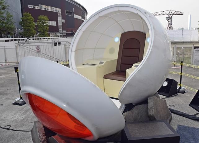 映画『ドラゴンボール』公開を記念した宇宙船ポッド試乗会をレポート