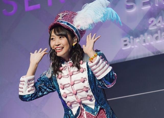 芹澤優24回目のバースデーを祝うソロライブより公式レポ到着