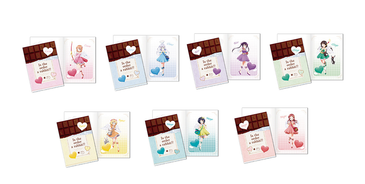 「一番くじ ご注文はうさぎですか?? 〜愛のキューピット、はじめました〜」が2019年1月12日(土)より順次発売予定!-10