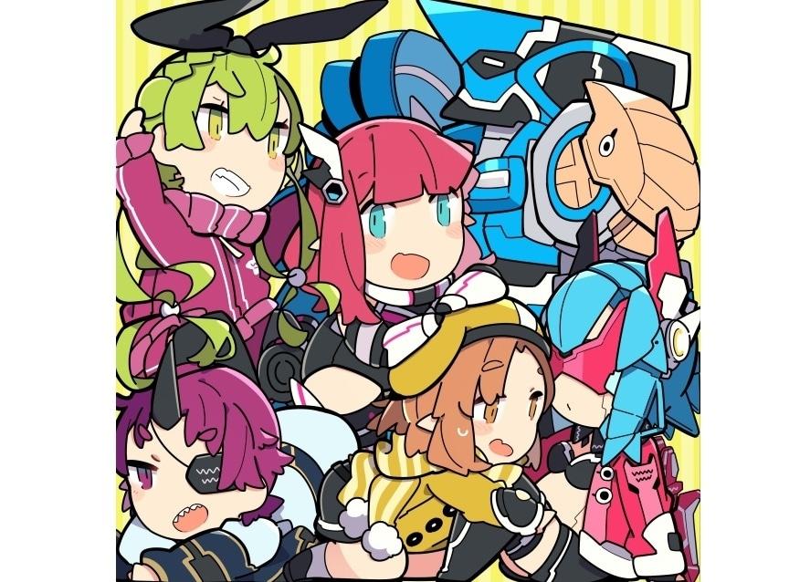 『PSO2』WEB漫画『ぷそ煮コミ』アニメ化決定&主題歌CD発売