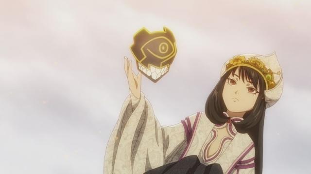 秋アニメ『あかねさす少女』第11話より場面カット・あらすじ公開!明日架は黄昏の王と対面。黄昏化を止めるよう懇願しますが、その代償は……