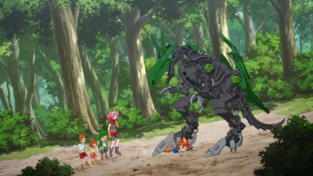 TVアニメ『ゾイドワイルド』第23話あらすじ&先行場面カットが到着! アラシたちはラプトールの世話をする兄妹に出会う-2