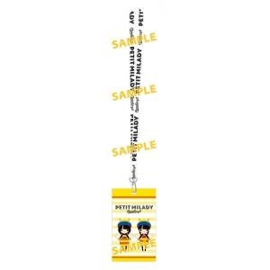 ▲アニメイト限定版特典:ネックストラップ付きチケットフォルダ