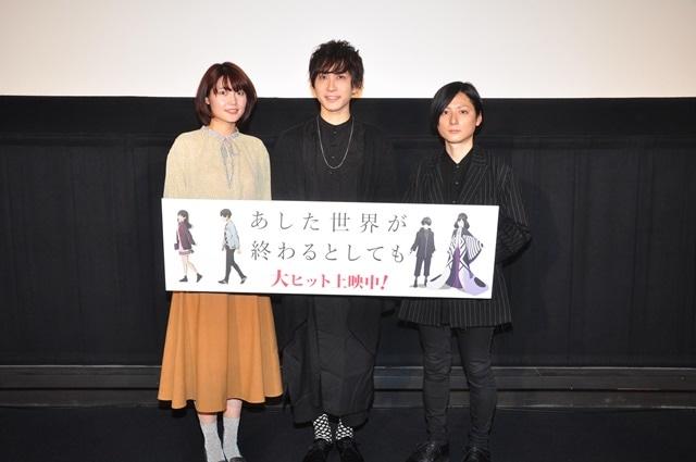 ▲左から千本木彩花さん、中島ヨシキさん、櫻木優平監督