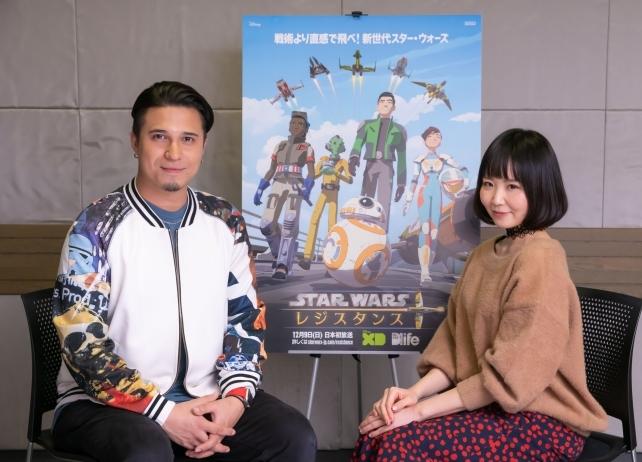 『スター・ウォーズ レジスタンス』木村昴&佐藤美由希のコメントが到着!