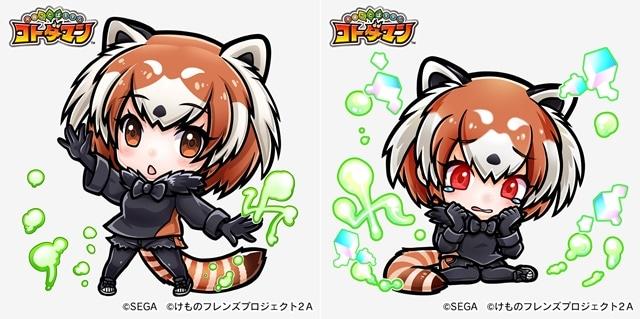 ▲ ★4 レッサーパンダ (進化前)/★5 レッサーパンダ (進化後)