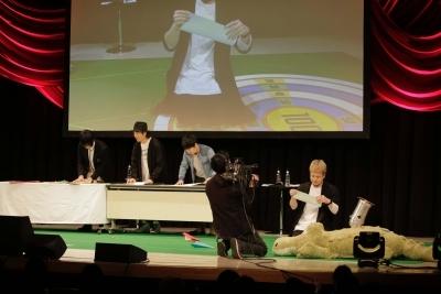 鳥海浩輔さん、吉野裕行さん、安元洋貴さんと遊佐浩二さんの50周年をお祝い!『遊佐浩二50thアニバーサリーCD「io」スペシャルイベント』昼の部レポート-30