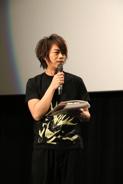 『機動戦士ガンダムNT』UCスペシャル舞台挨拶に、内山昂輝さん・藤村歩さん・浪川大輔さんが登壇! 『NT』への想いを語る-4