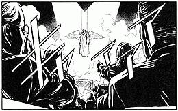 ▲工藤新一NY[ニューヨーク]の事件 コミック場面カット