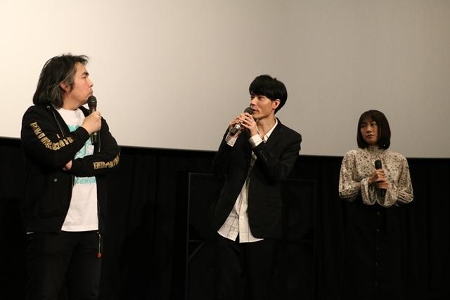 『機動戦士ガンダムNT』UCスペシャル舞台挨拶に、内山昂輝さん・藤村歩さん・浪川大輔さんが登壇! 『NT』への想いを語る