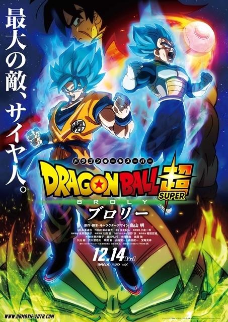 『ドラゴンボール超 ブロリー』北米デイリーランキングNo.1!日本アニメ映画がアメリカで1位を獲得したのは『劇場版ポケットモンスター ミュウツーの逆襲』以来20年ぶりの画像-2