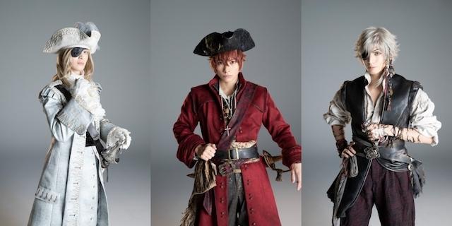 「劇団シャイニング from うたの☆プリンスさまっ♪『Pirates of the Frontier』」ビジュアル撮影レポート&メインキャスト3名にインタビュー!
