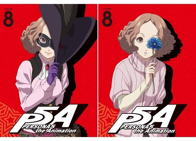 『ペルソナ5』BD&DVD第8巻より「春/ノワール」のジャケットイラスト解禁!