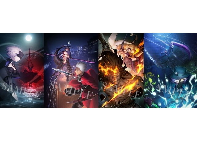 劇場版「Fate/stay night [HF]」第2章、劇場来場特典概念礼装イラスト解禁!