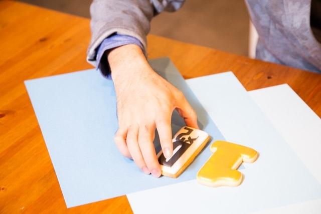 お菓子作り初心者の小野友樹さんがアイシングクッキー作りに挑戦!【D×2 真・女神転生リベレーション編】-13