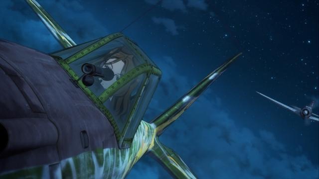 『荒野のコトブキ飛行隊』第7話「ナサリンの1ポンド硬貨」より場面カット到着! ケイトの見舞い相手、そして彼女が提案した消化方法とは?-9