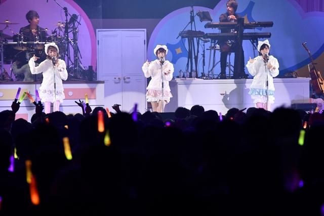 日高里菜さん、津田美波さん、山口愛さんがパジャマ姿を披露!「ひなビタ♪ライブ2018」レポート-1