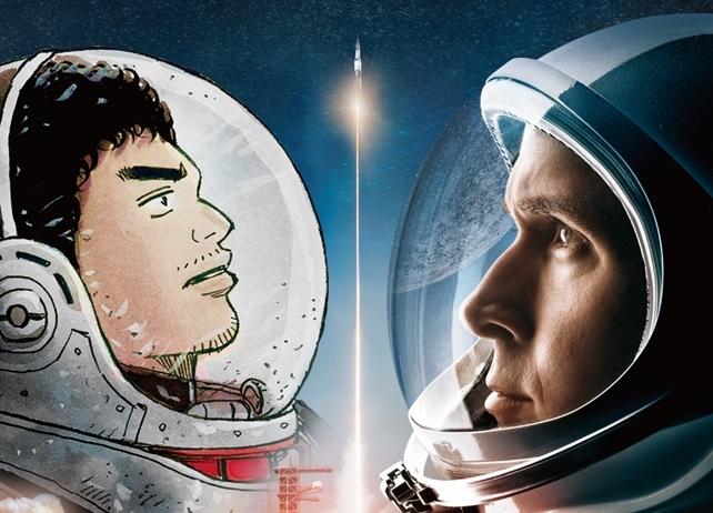 『宇宙兄弟』と映画『ファースト・マン』コラボ映像第2弾が公開