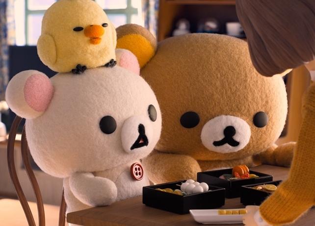 アニメ『リラックマとカオルさん』場面写真が初公開