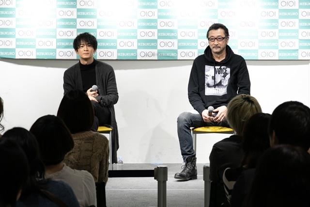 ▲左から津田健次郎さん、大塚明夫さん
