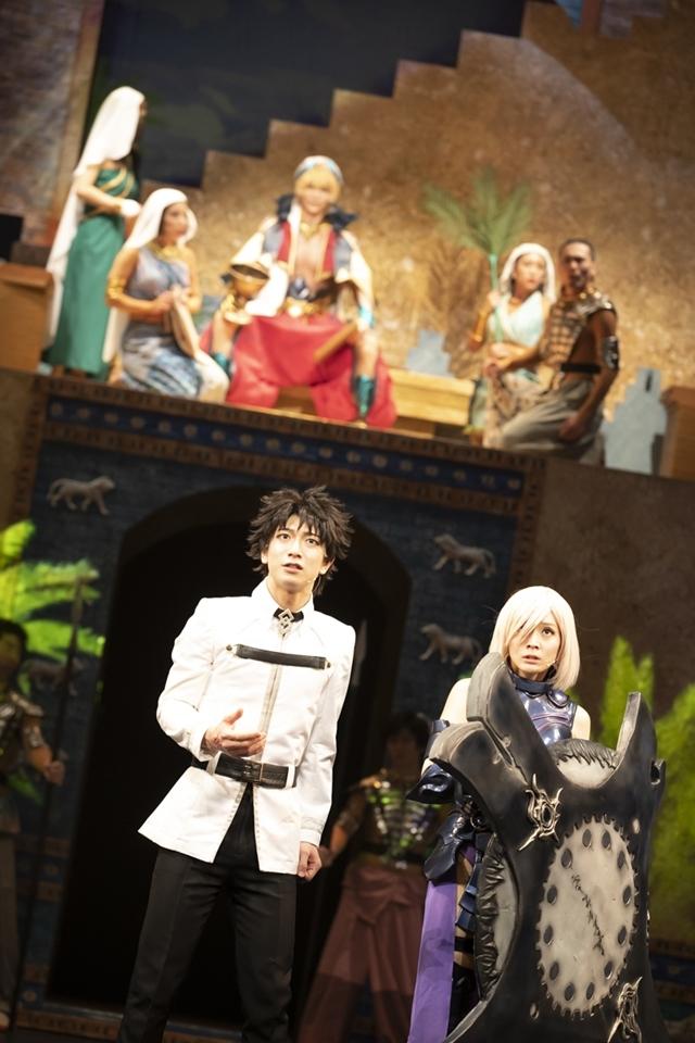 『Fate/Grand Order THE STAGE -絶対魔獣戦線バビロニア-』東京公演ゲネプロレポート|手に汗握る迫力のアクションと、ギルガメッシュとエルキドゥの関係性が見どころに!