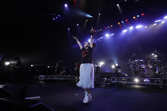 声優・歌手の茅原実里さん「Minori Chihara Live Tour 2019 ~SPIRAL~」初日公演の公式フォトレポート到着!恒例のサマーライブも開催-5