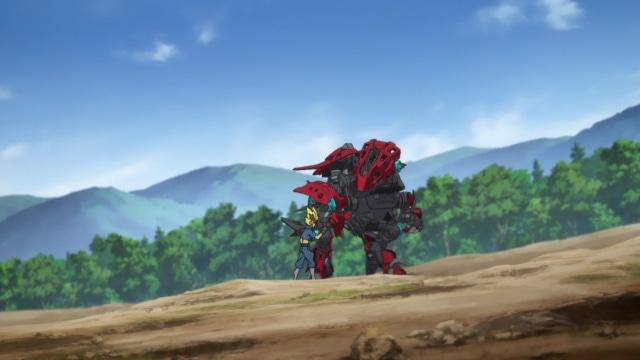 TVアニメ『ゾイドワイルド』第29話あらすじ&先行場面カットが到着! アラシとの激しい戦いでソルトはある人物を思い出す……-12