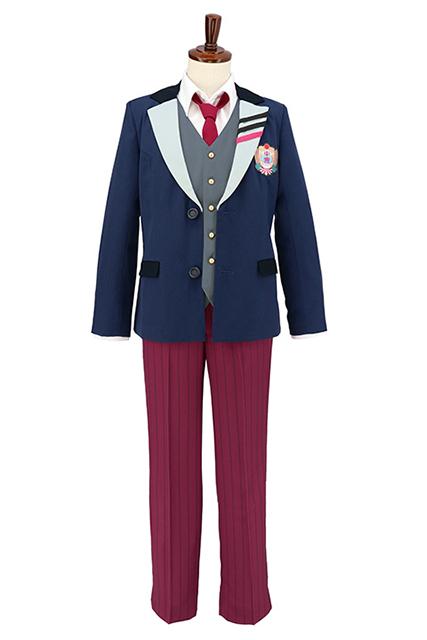 人気アプリ『DREAM!ing』より、望月悠馬、花房柳たちが通う東雲学園の制服がACOS(アコス)から発売決定