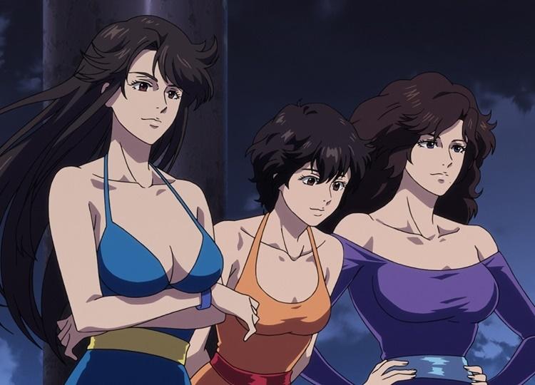 「キャッツアイ」伝説の三姉妹が『劇場版シティーハンター』で
