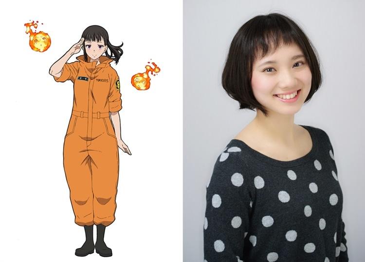 TVアニメ『炎炎ノ消防隊』茉希尾瀬役は上條沙恵子に決定
