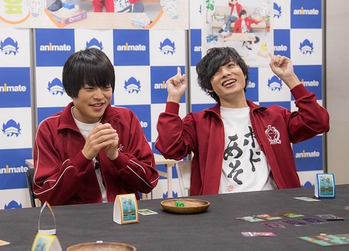 岡本信彦&堀江瞬オリジナルゲーム発売イベント後インタビュー到着