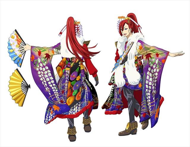 ▲太刀花ユキノジョウ ステージ衣装