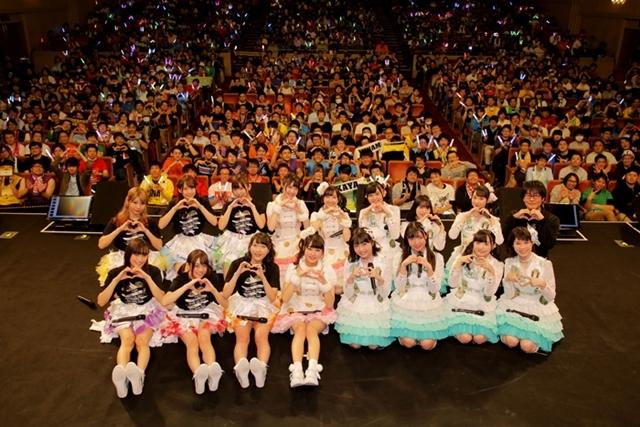 『i☆Ris』が17thシングル『Endless Notes』の発売記念リリースイベントを開催!お台場ヴィーナスフォート教会前広場に1000人のファンが集結!-1