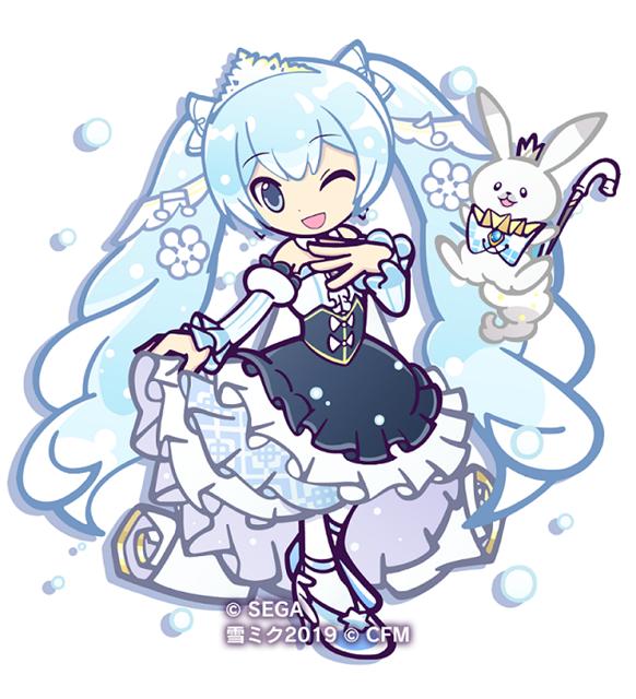 ▲[★6]雪ミク SnowPrincess