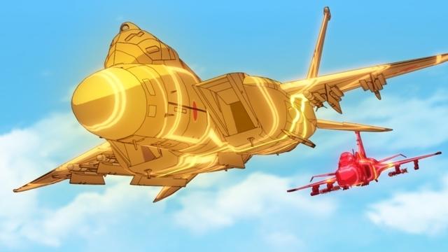 冬アニメ『ガーリー・エアフォース』第4話のあらすじ・先行場面カット到着! グリペンが廃棄処分されることを聞いた慧は基地に忍び込む-3