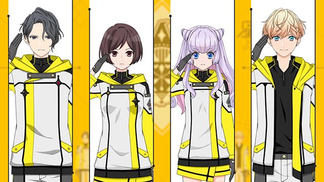 新作スマホゲーム『星鳴エコーズ』より、前野智昭さん、斉藤壮馬さんらがCVを務める第16学生塔破隊「モノケロス」のキャラクターPVが公開!-1