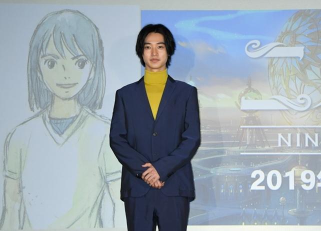アニメ映画『二ノ国』製作決定! 主人公の声は、俳優・山﨑賢人が担当!